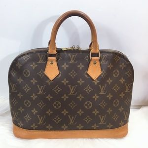 100% Authentic Louis Vuitton  Alma with Dust Bag